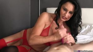 Babysitter, Mature, Huge, Mommy, Grandmother, Facial, Cougar