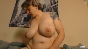 Granny, Riding, Cowgirl, Big tits, Mature, Amateurs, European