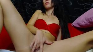 Solo, Horny, Webcam, Brunette, Usa, Toys, Masturbation