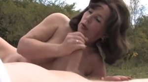 Homemade, Blowjob, Amateurs, Outdoor, Granny, Mommy, Grandmother
