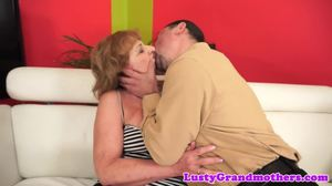 Granny, Legs, Cock, Horny, Mature, Grandmother, European