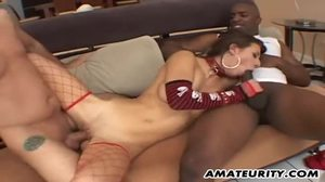 Homemade, Banging, Gangbang, Sex, 3 some, Cumshot, Double