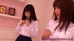 Asian, High definition, Japanese, Masturbation, Scissoring, Toys, Schoolgirl