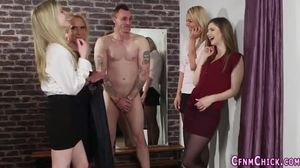 Group, Cfnm, Sex, Femdom, European, High definition, British