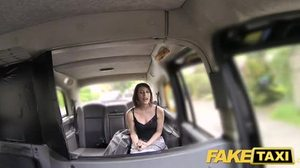 Babe, Car, Blowjob, Taxi, Outdoor, Big cock, Bent over
