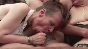Blowjob, 3 some, Mature, Interview, Monster cock, Grandmother, Grandfather
