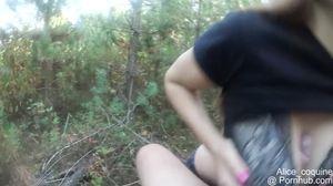 Metsä anaali seksiä