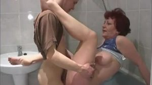Homemade, Babysitter, Mature, Mommy, Masturbation, Young, Bathroom