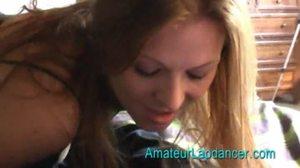 Lap Amateur Dance Freundin Video shows