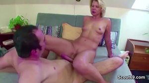Fucking, Blowjob, Old and young, Huge, Mommy, Penis, Young