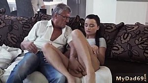 Anal, Hardcore, Blowjob, Old and young, Assfucking, Brunette, Teen