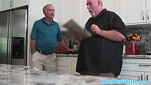 Curvy, Blowjob, Old and young, Grandfather, Young, Dad and girl, Old man