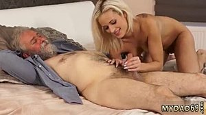 Babe, Hardcore, Blowjob, Old and young, Blonde, Young, Dad and girl