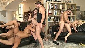 PAWG anaali seksiä