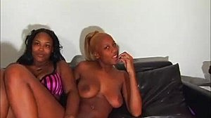 Fucking, Squirting, Pussy, 3 some, Old and young, Double, Ebony