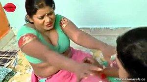 Intialainen täti suihin