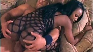 Creampie, African, Pussy, Big cock, Bent over, Doggystyle, Blowjob