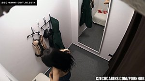 Spying, Voyeur, Clothes ripped, Teen, Hidden cam, Reality, Solo