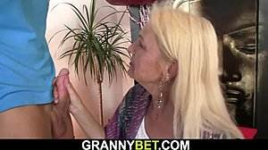 Granny, Skinny, Pussy, Mature, Blonde, Mommy, Drilled