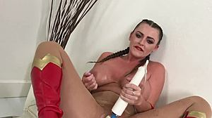 British, Squirting, Fat, Costumes, Orgasm, Curvy, Tits
