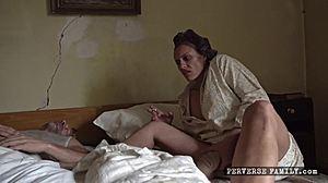 Porno musta hame