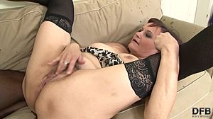 Babe, Cock, Naughty, Huge, Grandmother, High definition, Monster