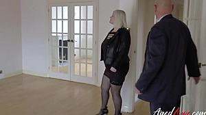 Fucking, Blowjob, Babysitter, Mature, Huge, Chubby, Grandmother