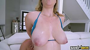Sucking, Big tits, Hardcore, Blowjob, Jizz, Cock, Boobs